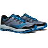 saucony Peregrine 8 Shoes Men Black/Grey/Blue